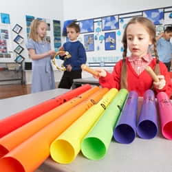 Boomwhackers and Materials