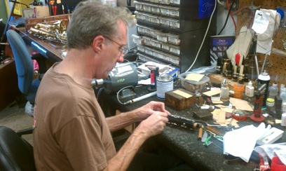 Hall Sanders Woodwind Repair Technician