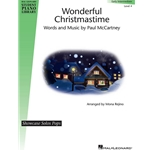 Wonderful Christmastime - Piano