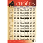 Piano Chords - Poster 22x34