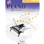 Faber Piano Adventures, Primer: Gold Star Performance (Book/Audio)