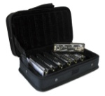 Hohner 1501 Bluesband 7 Piece Harmonica Set in Carrying Case