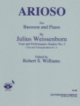 Arioso Op. 9 No. 1 - Bassoon and Piano