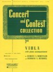 Concert and Contest Collection for Viola  - Viola Part
