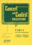 Concert and Contest Collection for Viola - Piano Accompaniment