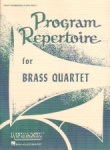 Program Repertoire for Brass Quartet - 1st Trombone (3rd Part)