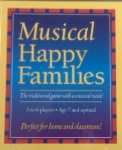 Musical Happy Families Quartet  - Card Game