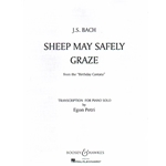 Sheep May Safely Graze - Piano