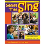 Games That Sing Book and CD