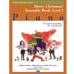 Basic Piano Library: Merry Christmas! Ensemble Book 2 - 4 Pianos 8 Hands