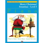 Basic Piano Library: Merry Christmas, Book 5 (Sonatinas)