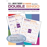 Alfred's Essentials of Music Theory Key Signature Double Bingo