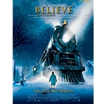 Believe, from Polar Express - Five-Finger Piano