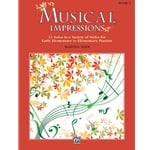 Musical Impressions, Book 1 - Piano