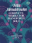 Complete Works for Piano Solo, Volume 2