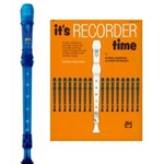 MPI Prism Blue Recorder & It's Recorder Time Book