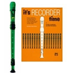 MPI Prism Green Recorder & It's Recorder Time Book