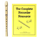 MPI Antiqua Recorder& Complete Recorder Resource Book