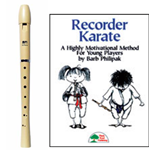 MPI Antiqua Recorder & Recorder Karate Book