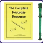Green Cantos Recorder & Complete Recorder Resource Bk