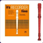 Red Cantos Recorder & It's Recorder Time Book