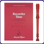 Red Cantos Recorder & Recorder Time Book