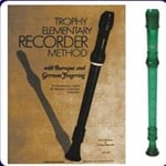 Green Cantos Recorder & Trophy Recorder Book