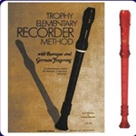Red Cantos Recorder & Trophy Recorder Book