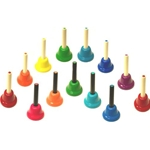 KidsPlay One Octave 13 Note Chromatic Handbell Set