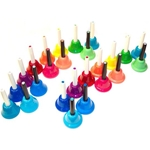 KidsPlay 25 Note Colored Handbell Set (2 octaves)