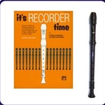 Brown Tudor Recorder & It's Recorder Time Book