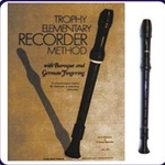Brown Tudor Recorder & Trophy Recorder Book
