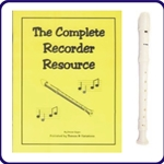 White Tudor Recorder & Complete Recorder Resource Book