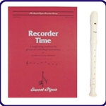 White Tudor Recorder & Recorder Time Book