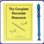 Blue Candy Apple Recorder & Complete Recorder Resource Book
