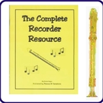 Gold Candy Apple Recorder & Complete Recorder Resource Book