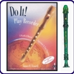 Green Candy Apple Recorder & Do It Recorder Book/CD
