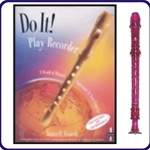 Purple Candy Apple Recorder & Do It Recorder Book/CD