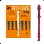 Purple Candy Apple Recorder & It's Recorder Time Book