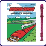 Purple Candy Apple Recorder & Recorder Express Book