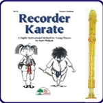 Gold Candy Apple Recorder & Recorder Karate Book