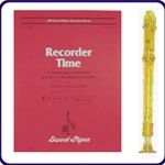 Gold Candy Apple Recorder & Recorder Time Book