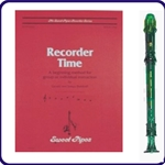 Green Candy Apple Recorder & Recorder Time Book