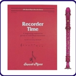 Purple Candy Apple Recorder & Recorder Time Book