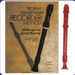 Red Candy Apple Recorder & Trophy Recorder Book