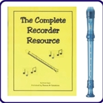 Yamaha Blue Recorder & Complete Recorder Resource Book