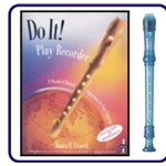Yamaha Blue Recorder & Do It Recorder Book/CD