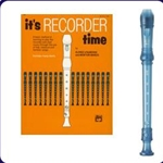 Yamaha Blue Recorder & It's Recorder Time Book