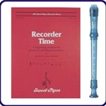 Yamaha Blue Recorder & Recorder Time Book