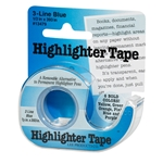 3 Line Blue Highlighter Tape